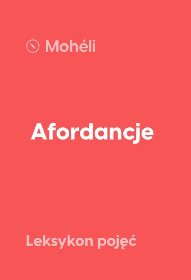 afordancje - mobile